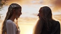 photo 55/221 - Ian McKellen, Cate Blanchett - Le Hobbit : un voyage inattendu - © Warner Bros