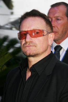 Bono Festival Cannes, le 17 mai 2008 photo 4 sur 7