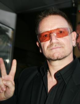 Bono Festival Cannes, le 17 mai 2008 photo 5 sur 7