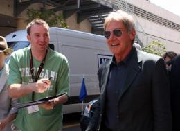 photo 79/126 - Harrison Ford - Pr�sentation d'Indiana Jones et le Royaume du Cr�ne de Cristal, Cannes le 18 mai 2008 - Indiana Jones et le Royaume du Cr�ne de Cristal - © Isabelle Vautier pour CommeAuCinema.com
