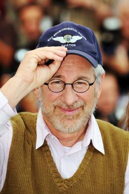photo 104/126 - Steven Spielberg - Pr�sentation d'Indiana Jones et le Royaume du Cr�ne de Cristal, Cannes le 18 mai 2008 - Indiana Jones et le Royaume du Cr�ne de Cristal - © Paramount