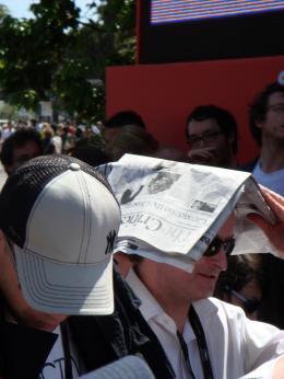 photo 71/126 - Vraiment trop chaud... mais pour Indy on est pr�ts � tout ! - Indiana Jones et le Royaume du Cr�ne de Cristal - © Am�lie Chauvet Commeaucinema.com