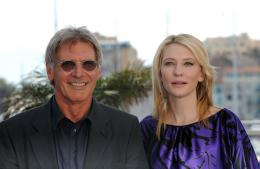 photo 98/126 - Harrison Ford et Cate Blanchett - Pr�sentation d'Indiana Jones et le Royaume du Cr�ne de Cristal, Cannes le 18 mai 2008 - Indiana Jones et le Royaume du Cr�ne de Cristal - © Paramount