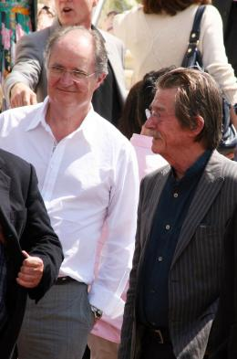 photo 84/126 - Jim Broadbent et John Hurt - Pr�sentation d'Indiana Jones et le Royaume du Cr�ne de Cristal, Cannes le 18 mai 2008 - Indiana Jones et le Royaume du Cr�ne de Cristal - © Isabelle Vautier pour CommeAuCinema.com