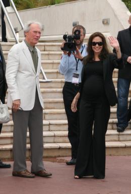 photo 42/92 - Clint Eastwood et Angelina Jolie - Présentation de l'Echange, Cannes, le 20 mai 2008 - L'échange - © Isabelle Vautier pour CommeAuCinema.com