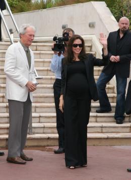 photo 43/92 - Clint Eastwood et Angelina Jolie - Pr�sentation de l'Echange, Cannes, le 20 mai 2008 - L'�change - © Isabelle Vautier pour CommeAuCinema.com