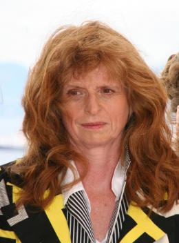 Claire Simon Présentation des Bureaux de Dieux, La Quinzaine - Cannes, le 20 mai 2008 photo 3 sur 4