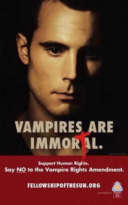 photo 47/50 - Affiche promo - True Blood - Saison 1
