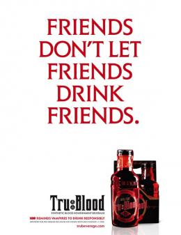 photo 37/50 - Affiche promo - True Blood - Saison 1
