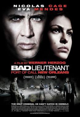 photo 22/39 - Affiche américaine - Bad Lieutenant : Escale à la Nouvelle-Orléans - © Métropolitan Film