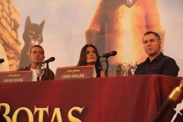 photo 90/135 - Conférence de Presse de Mexico - Le Chat Potté - © Paramount