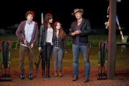 Bienvenue � Zombieland Jesse Eisenberg, Emma Stone, Abigail Breslin, Woody Harrelson photo 2 sur 46
