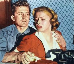 photo 4/8 - Kirk Douglas, Eleanor Parker - Histoire de détective - © Swashbuckler Films