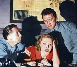 photo 3/8 - Kirk Douglas, Eleanor Parker - Histoire de détective - © Swashbuckler Films
