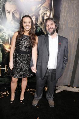 photo 46/98 - Katie Jackson, Peter Jackson - Avant-première du film - Le Hobbit : La désolation de Smaug - © Warner Bros