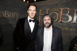 photo 63/98 - Benedict Cumberbatch, Peter Jackson - Avant-première - Le Hobbit : La désolation de Smaug - © Warner Bros
