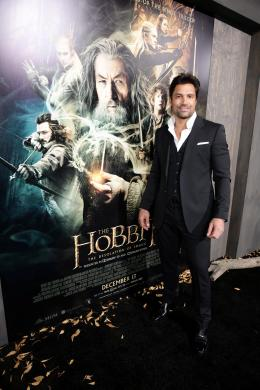 photo 47/98 - Manu Bennett - Avant-premi�re du film - Le Hobbit : La d�solation de Smaug - © Warner Bros