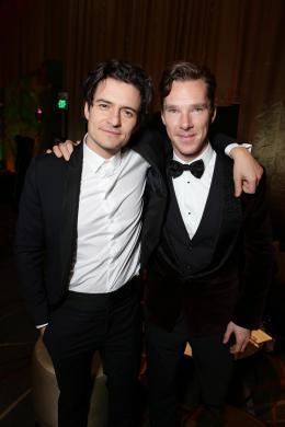 photo 58/98 - Orlando Bloom, Benedict Cumberbatch- Avant-premi�re du film - Le Hobbit : La d�solation de Smaug - © Warner Bros