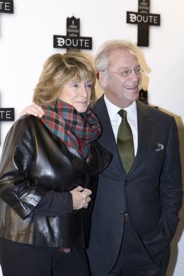 Bernard Murat Avec Danièle Thomson pour l' avant-première de Doute à Paris le 19 janvier 2009 photo 2 sur 2