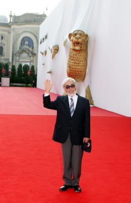 Hayao Miyazaki Festival de Venise 2008 photo 3 sur 8