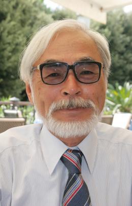 Hayao Miyazaki Festival de Venise 2008 photo 7 sur 8