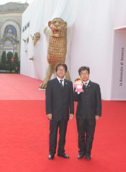 Hayao Miyazaki Festival de Venise 2008 photo 5 sur 8