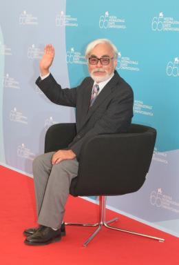 Hayao Miyazaki Festival de Venise 2008 photo 6 sur 8
