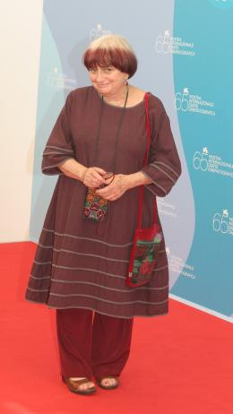 photo 14/24 - Agnès Varda - Présentation du film Les Plages d'Agnès - Venise 2008 - Les plages d'Agnès - © Isabelle Vautier - Commeaucinema.com