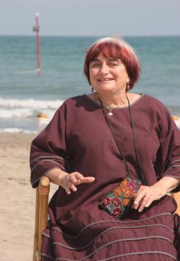photo 22/24 - Agn�s Varda - Pr�sentation du film Les Plages d'Agn�s - Venise 2008 - Les plages d'Agn�s - © Isabelle Vautier - Commeaucinema.com