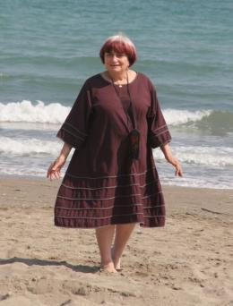 photo 18/24 - Agn�s Varda - Pr�sentation du film Les Plages d'Agn�s - Venise 2008 - Les plages d'Agn�s - © Isabelle Vautier - Commeaucinema.com