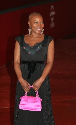 Félicité Wouassi Présentation du film Aide-toi et le ciel d'aidera - Rome 2008 photo 1 sur 1