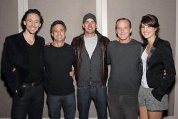 photo 32/137 - Tom Hiddleston, Mark Ruffalo, Chris Evans, Clark Gregg et Cobie Smulders - Avengers - © Walt Disney Studios Motion Pictures France