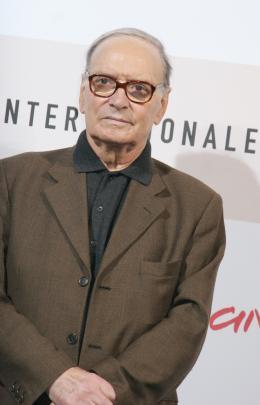 Ennio Morricone Présentation du film Resolution 819 - Rome 2008 photo 8 sur 10
