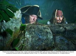 photo 17/140 - Geoffrey Rush, Johnny Depp - Pirates des Caraïbes : La fontaine de Jouvence - © Walt Disney Studios Motion Pictures France