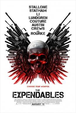 photo 11/14 - Affiche US - Expendables : Unité Spéciale - © Métropolitan Film