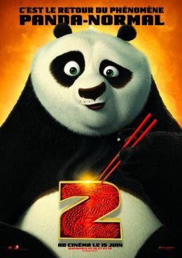 photo 24/80 - Affiche teaser française - Kung Fu Panda 2 - © Paramount