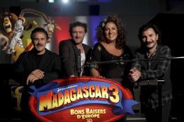 photo 44/83 - José Garcia, Jean-Paul Rouve, Marianne James et Michael Youn - Madagascar 3 : Bons baisers d'Europe - © Paramount