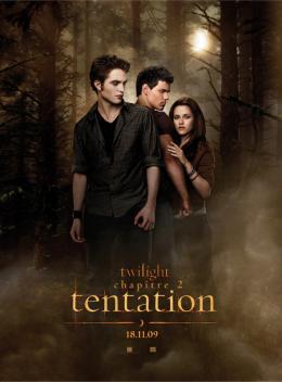 photo 94/106 - Affiche française - Twilight - Chapitre 2 : Tentation - © SND