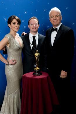 Simon Beaufoy PhotoCall Oscars 2009 photo 9 sur 11
