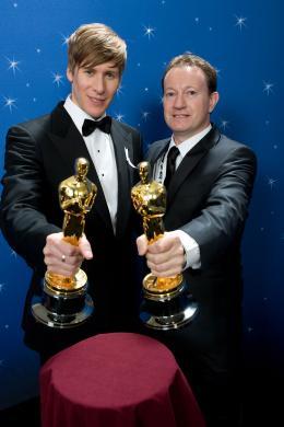 photo 11/11 - PhotoCall Oscars 2009 - Simon Beaufoy