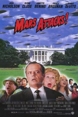 photo 3/6 - Affiche américaine - Mars Attacks !