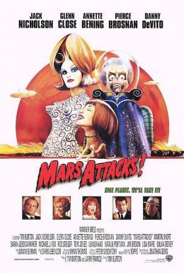 photo 5/6 - Affiche américaine - Mars Attacks !
