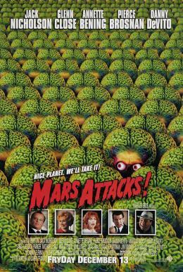 photo 4/6 - Affiche américaine - Mars Attacks !