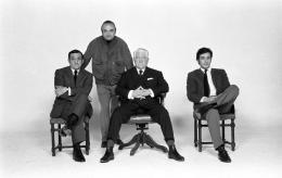 photo 3/10 - Lino Ventura, Henri Verneuil, Jean Gabin, Alain Delon - Le clan des siciliens - © Fox Pathé Europa (FPE)