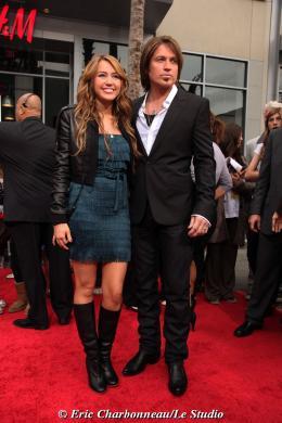 Billy Ray Cyrus Avant-première mondiale Hannah Montana photo 3 sur 9