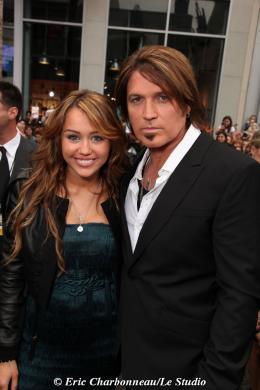 Billy Ray Cyrus Avant-première mondiale Hannah Montana photo 6 sur 9