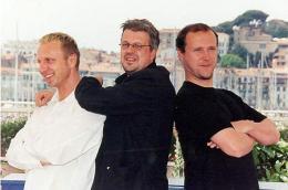 photo 20/23 - Benoît Charest, Evgeni Tomov, Sylvain Chomet - Les Triplettes de Belleville - © Diaphana
