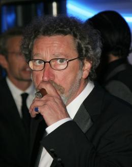 Robert Guédiguian Présentation officielle de Looking For Eric, Cannes 2009 photo 8 sur 16