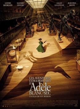 photo 46/56 - Affiche - Les Aventures extraordinaires d'Adèle Blanc-Sec - © EuropaCorp Distribution