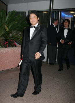 Park Chan-wook Festival de Cannes 2009 photo 8 sur 9